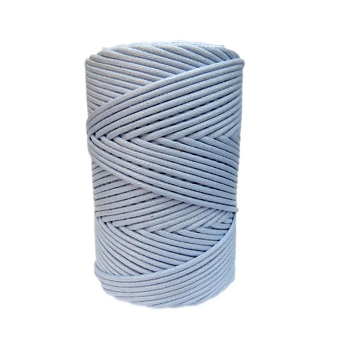 Cordão encerado grosso azul bebe (4630) 10mts- CDG019