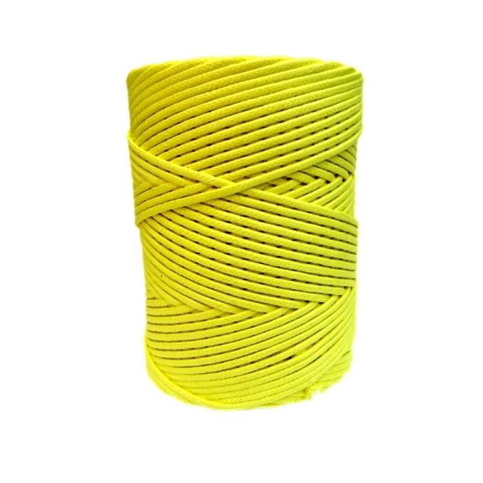 Cordão encerado grosso canario  (3330) 10mts- CDG022