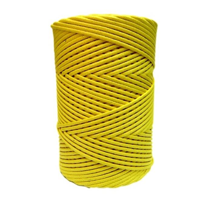 Cordão encerado grosso amarelo (3315) 10mts- CDG023
