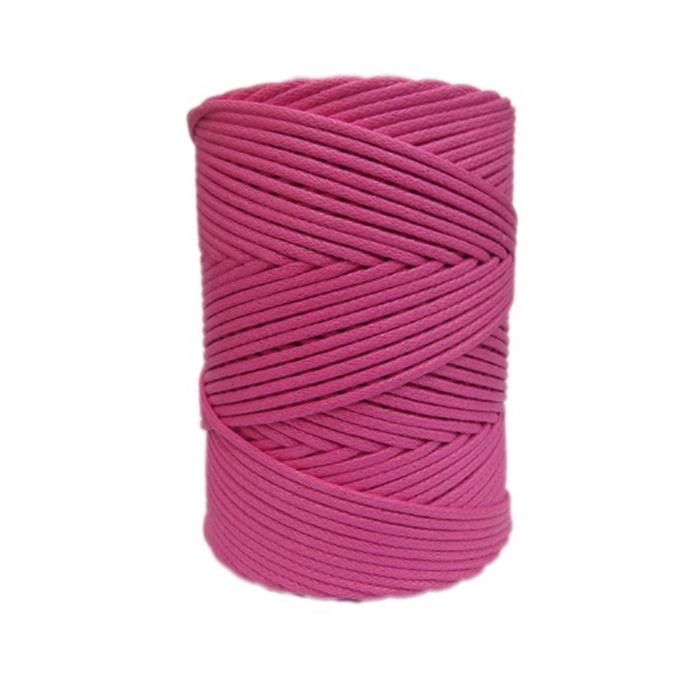 Cordão encerado grosso rosa medio (7721)- CDG026 ATACADO