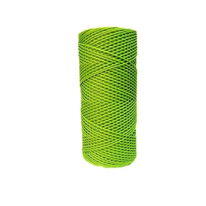 Cordão c/ nylon pistache (10mts)- CDN001