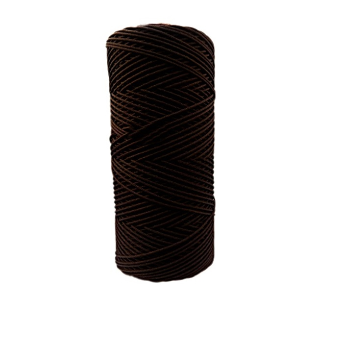 Cordão c/ nylon marrom escuro (10mts)- CDN006