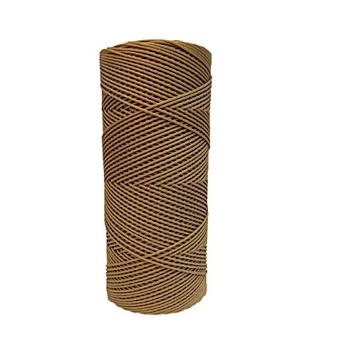 Cordão c/ nylon bege escuro- CDN007 ATACADO