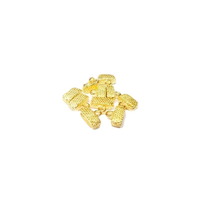 Terminal Colagem Achatado Pequeno TCD019-06 peças