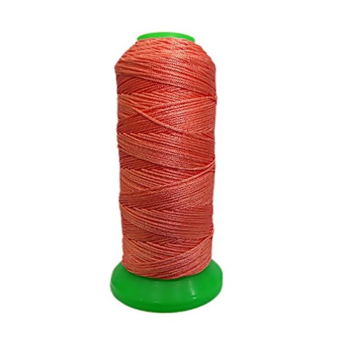Fio de seda fino salmão (10mts)- FS003