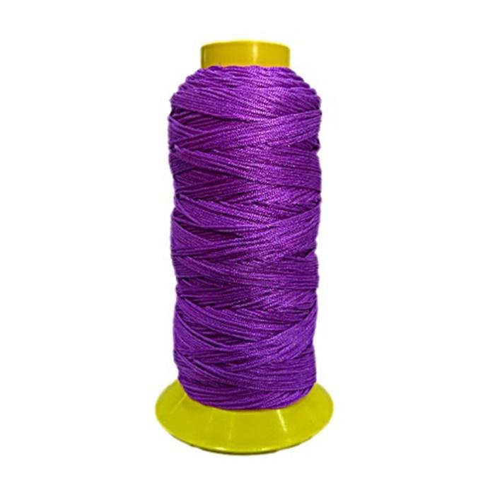 Cordão de seda fino lilás- FS006 ATACADO