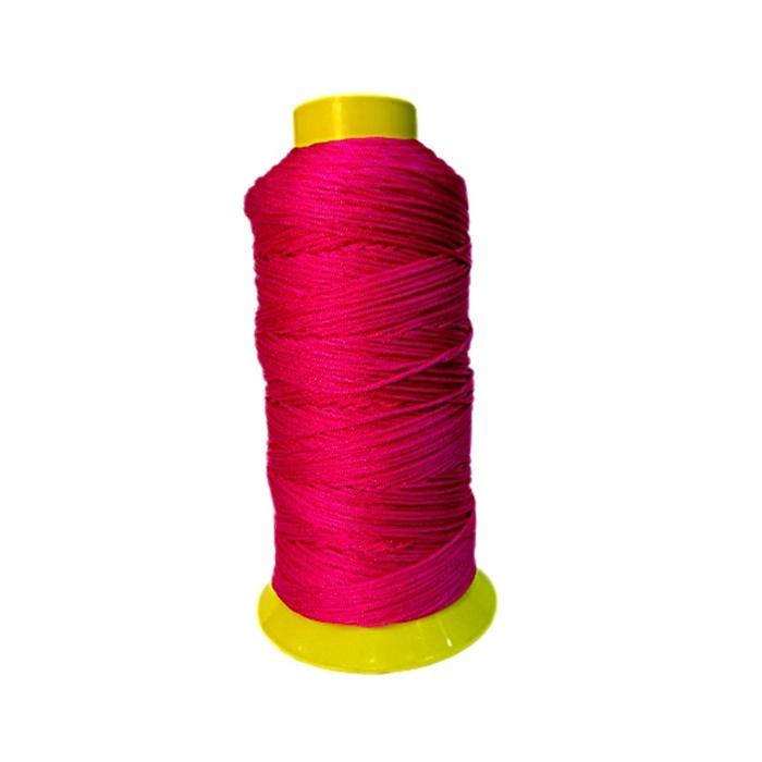 Cordão de seda fino Pink (10mts)- FS016