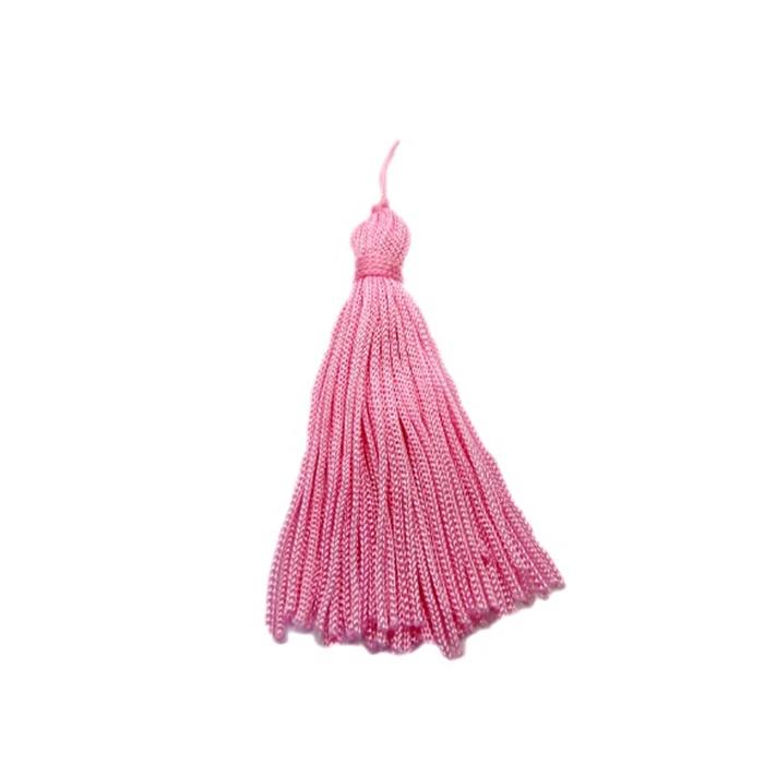 Pingente de seda rosa médio (100 unid.)- FRAN004 ATACADO