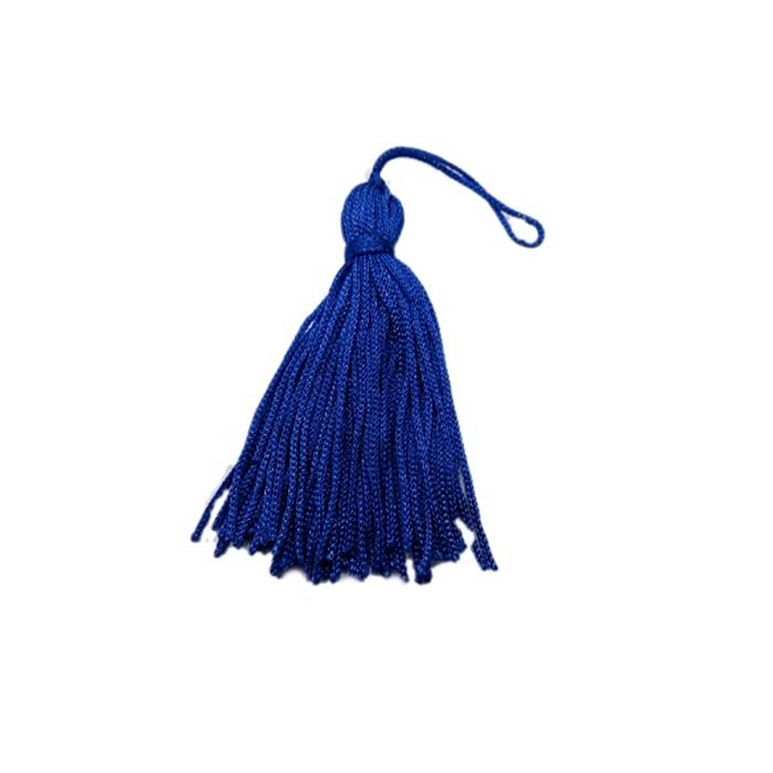 Pingente de seda azul bic (10 unid.)- FRAN015