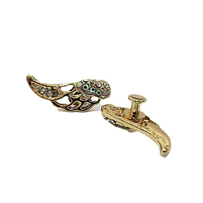 Piercing Asa pequena dourada (Par)- PID0048