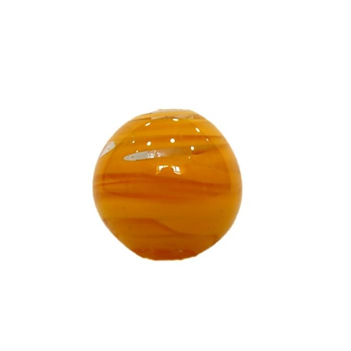 Bola de murano GG amarelo gema- MU002
