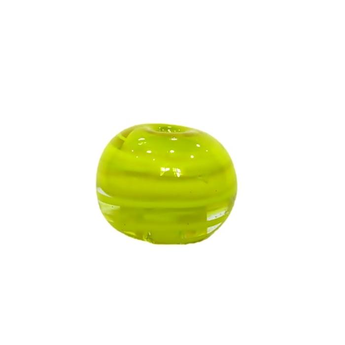 Bola de murano GG amarelo- MU004