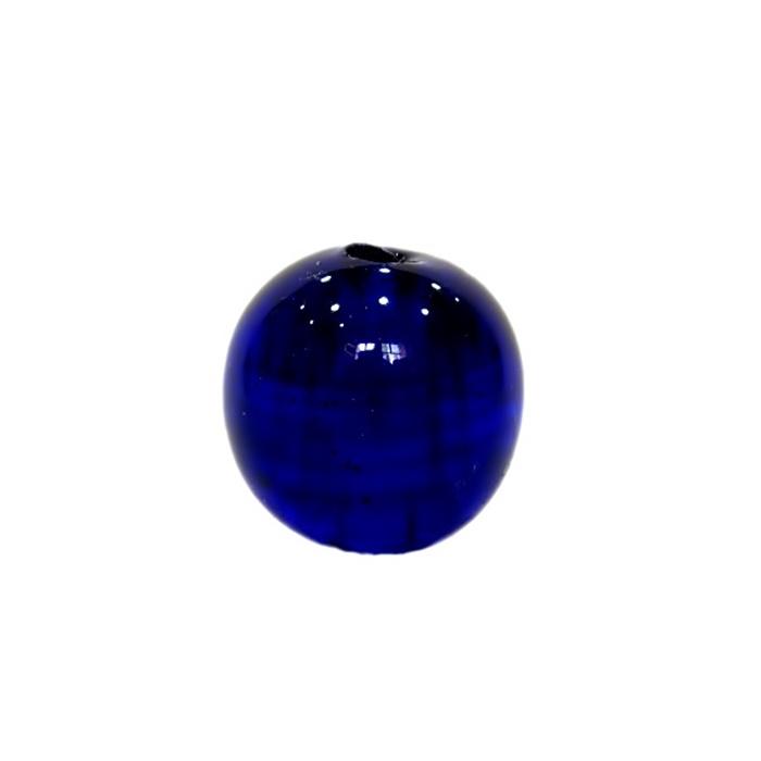 Bola de murano GG azulão- MU009