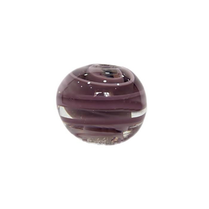 Bola de murano GG lilás- MU024