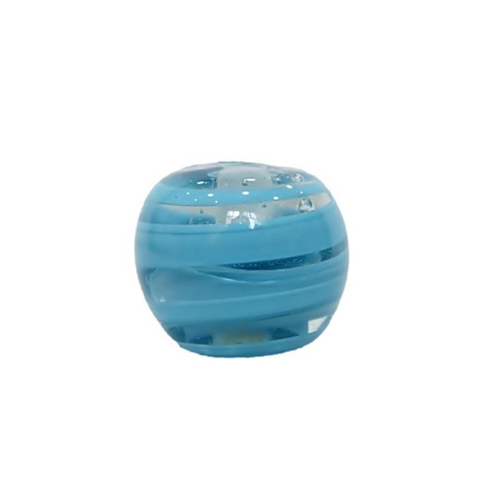 Bola de murano GG turquesa - MU027