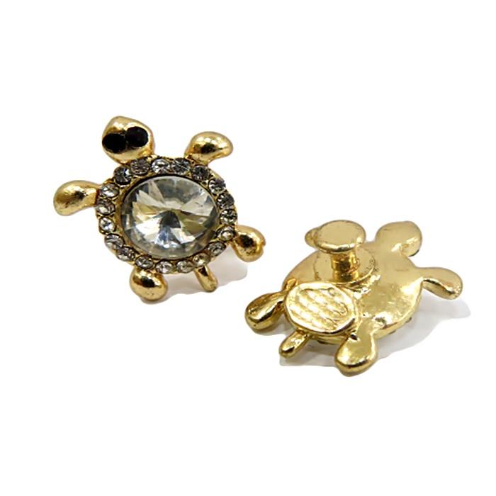 Piercing Tartaruga I dourada (Par)- PID046
