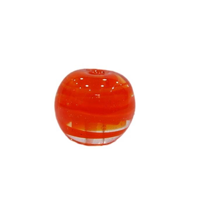 Bola de murano G  laranja- MU059