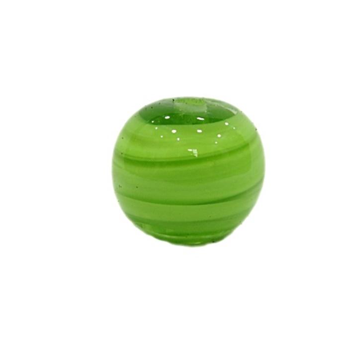 Bola de murano G pistache- MU064