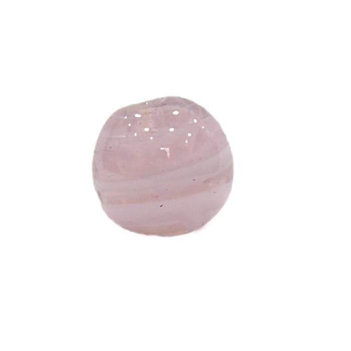 Bola de murano G rosa- MU067
