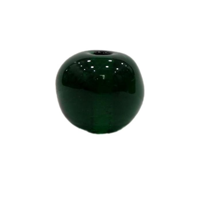 Bola de murano G  verde- MU078