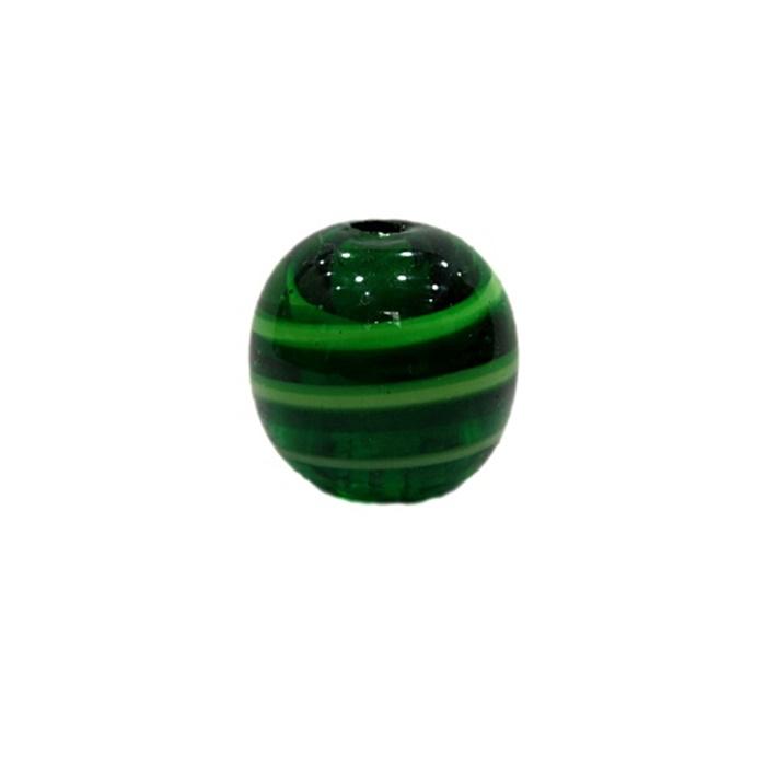 Bola de murano G verde/ verde pistache- MU079