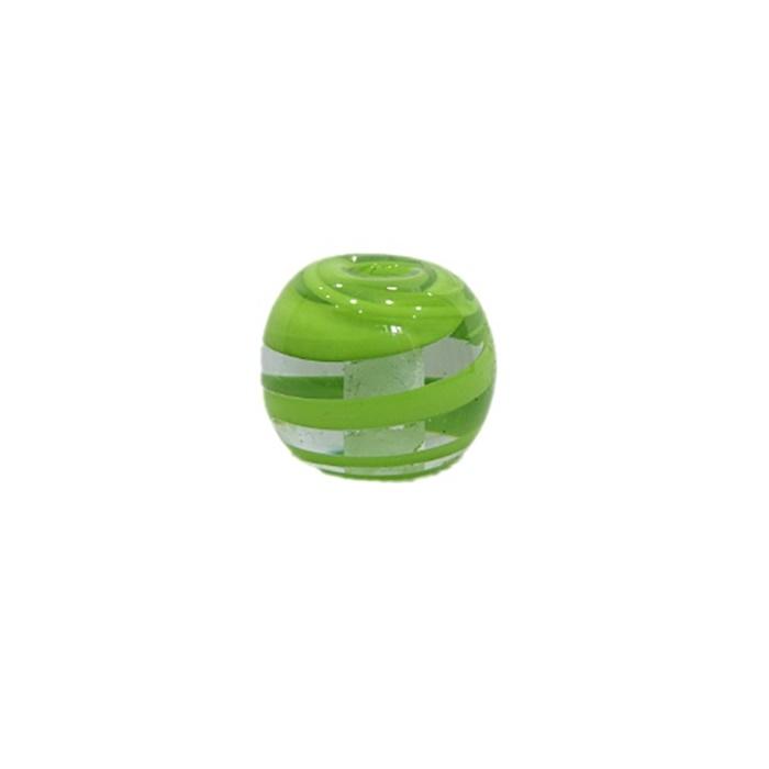 Bola de murano M pistache- MU092