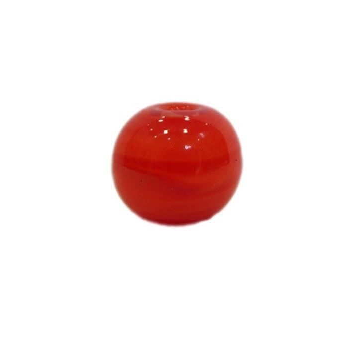 Bola de murano M vermelho- MU105
