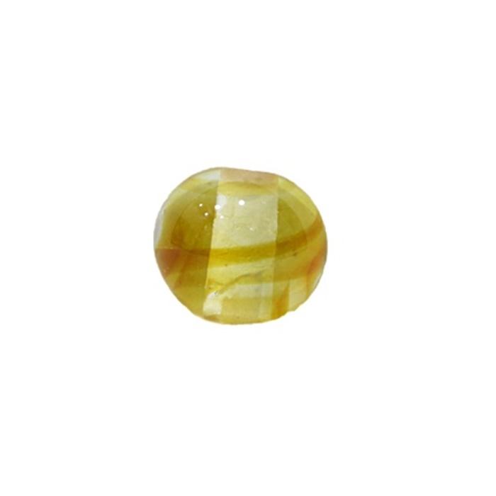Bola de murano P ambar (10 unidades)- MU107