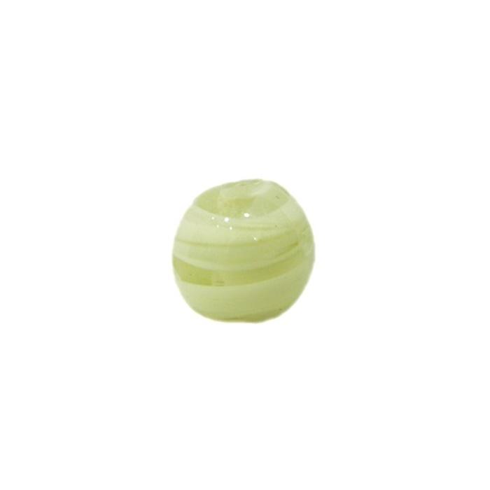 Bola de murano P bege (10 unidades)- MU114