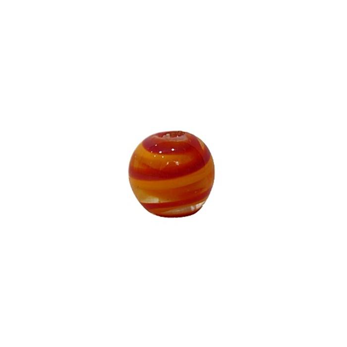 Bola de murano P laranja/ vermelho (10 unidades)- MU120