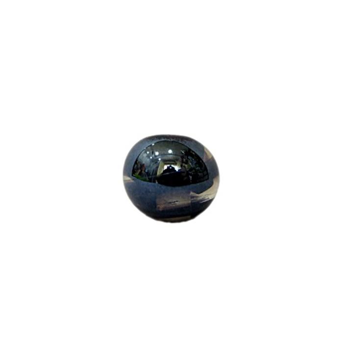 bola de murano p preto irisado (10 unidades)- MU124