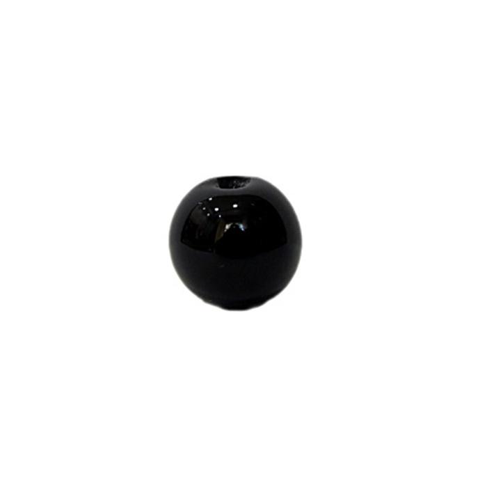 Bola de murano P preto (10 unidades)- MU125