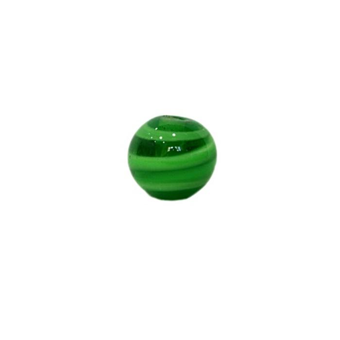 Bola de murano P verde/ verde pistache (10 unidades)- MU138