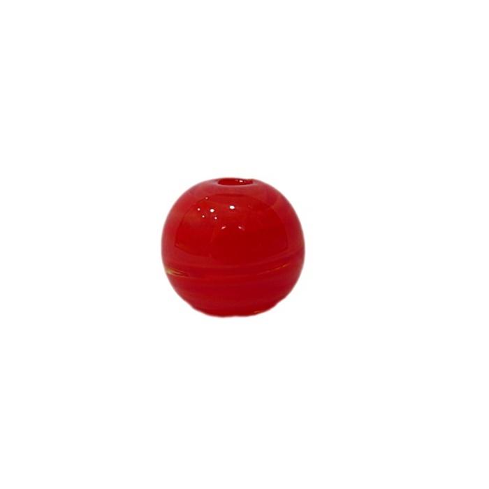 Bola de murano P vermelho (10 unidades)- MU140