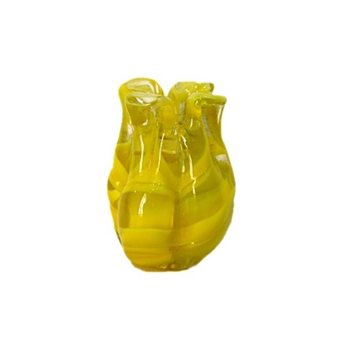 Tulipa de murano amarelo- MU145