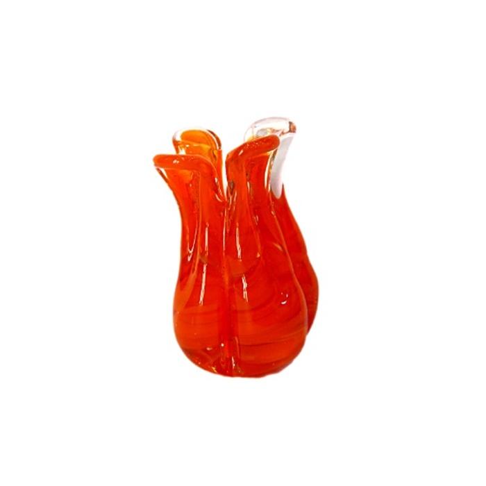 Tulipa de murano laranja- MU152