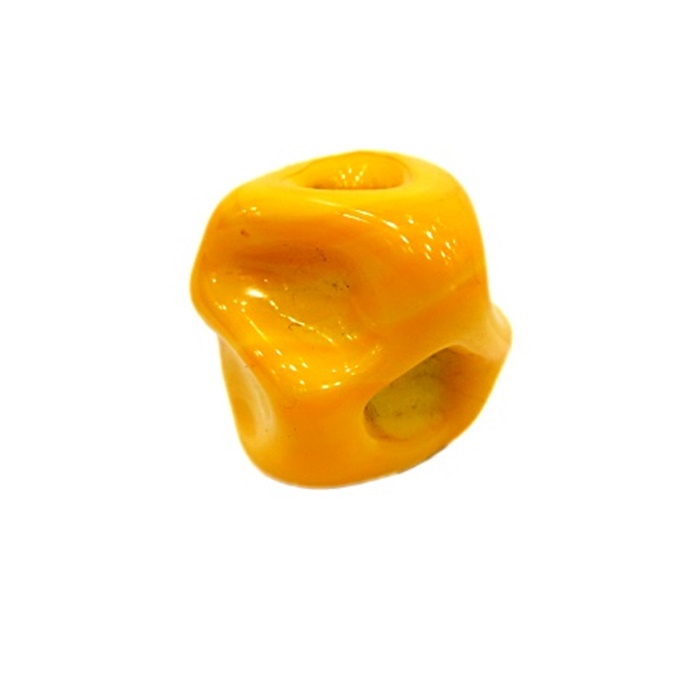 Meteoro de murano GG amarelo gema leitoso- MU192