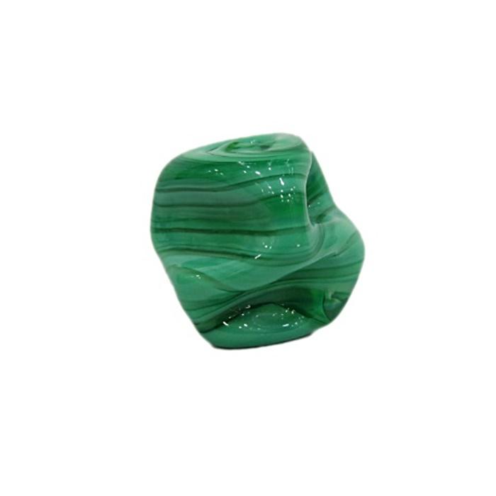 Meteoro de murano GG verde leitoso- MU220