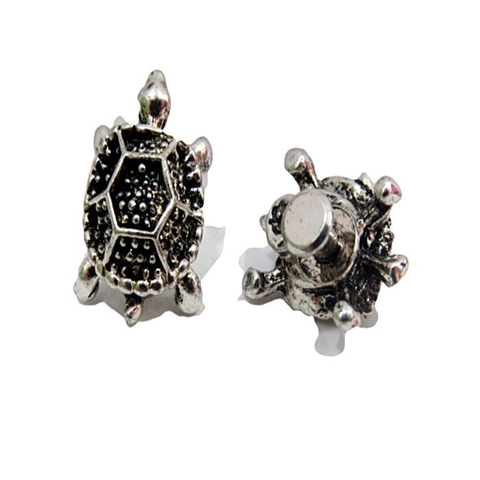Piercing Tartaruga níquel envelhecida (Par)- PIN028