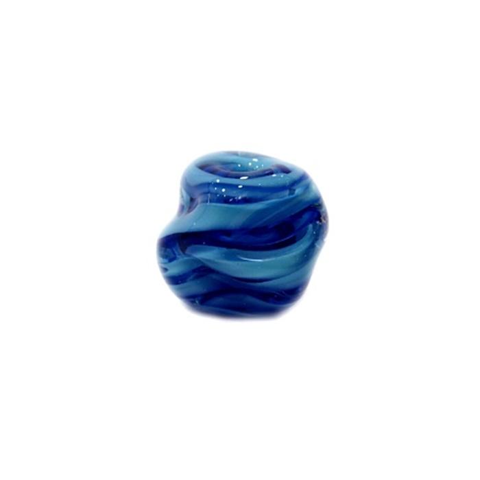 Meteoro de murano G azulão/ turquesa - MU236