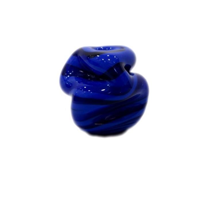Meteoro de murano G azul royal- MU239