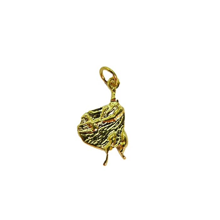 Pingente Obaluaê dourado (orixá)- POD002