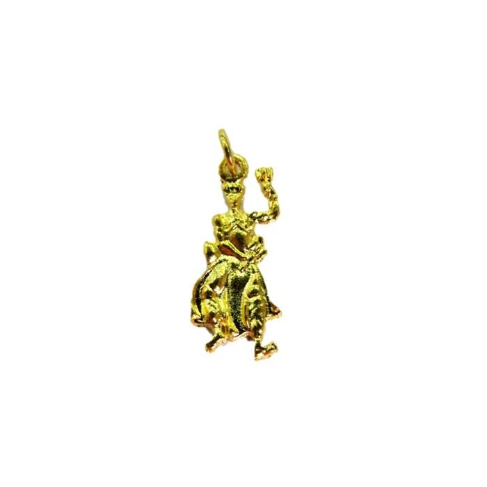 Pingente Xangô dourado (orixá)- POD005