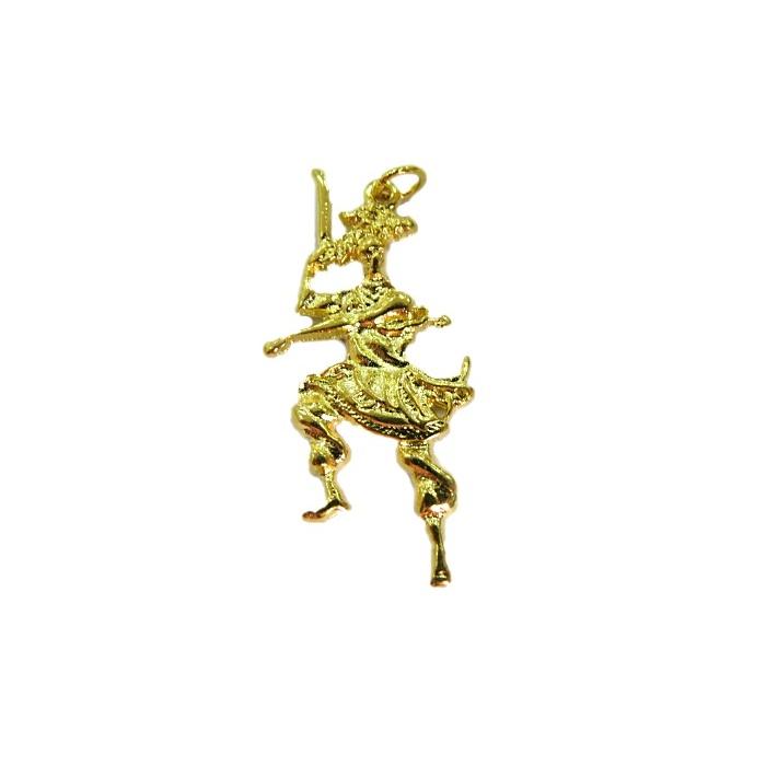 Pingente Ogum dourado(orixá)- POD008