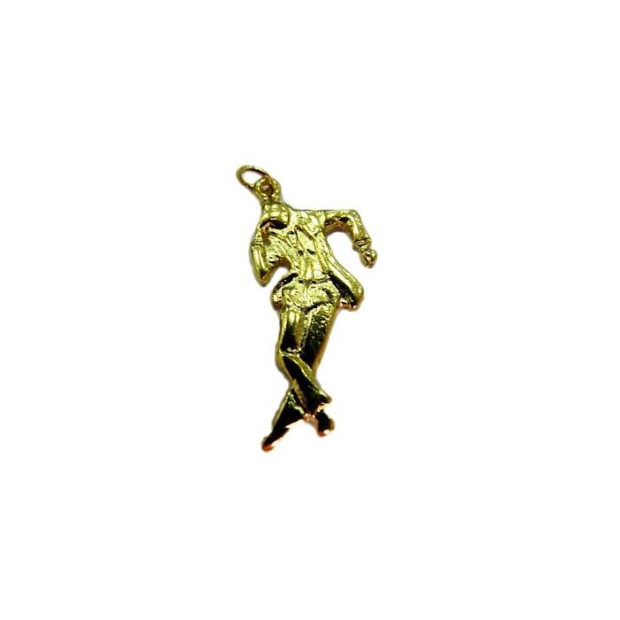 Pingente Zé Pilintra dourado (orixá)- POD010