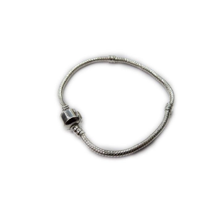 Pulseira Pandora níquel 18 e19 cm - PAN005