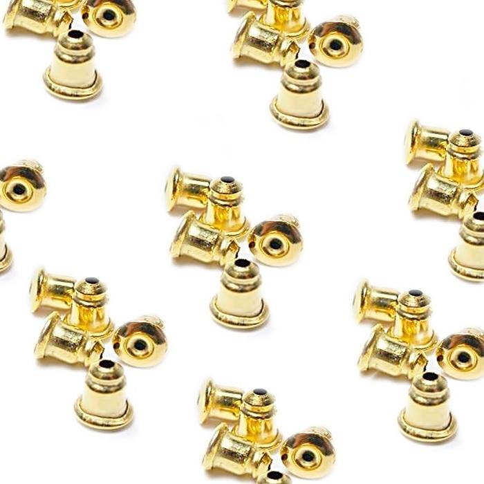 Tarracha bala dourada (250 pares)- TBD001 ATACADO