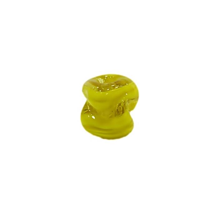 Meteoro de murano P amarelo (10 unidades) - MU321