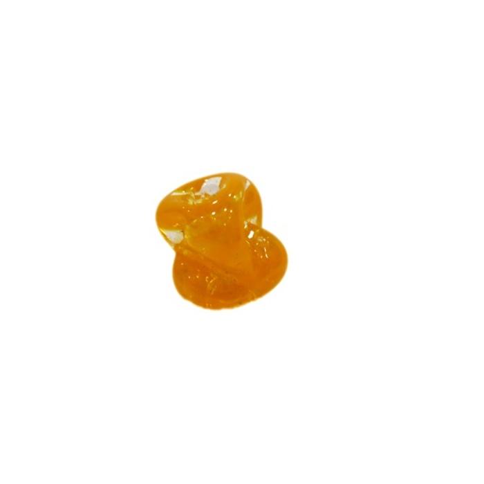 Meteoro de murano P laranja (10 unidades) - MU329