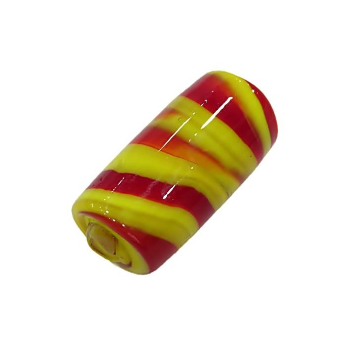 Firma de murano amarelo\ vermelho- FM003